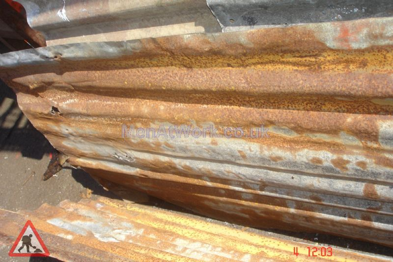 Rusted Corrugated Sheets - CS 12
