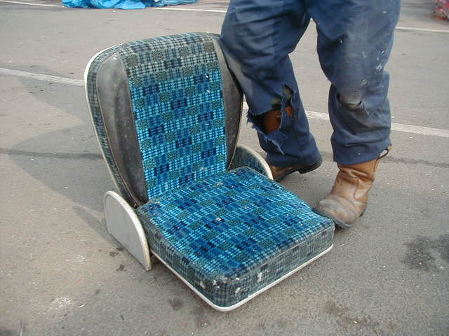 Courier Seat - CS 2
