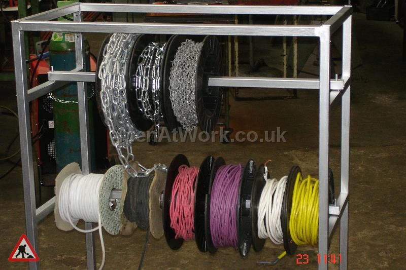 Assorted Cables and Drums - Cable drums various colours (8)