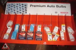 Car Bulb Rack - Car Bulb rack
