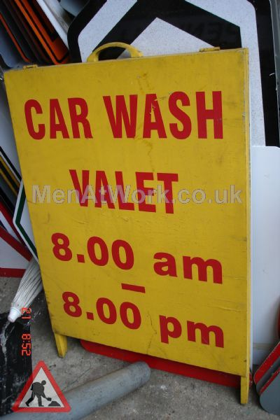 Car Wash Signs - Car Wash Valet