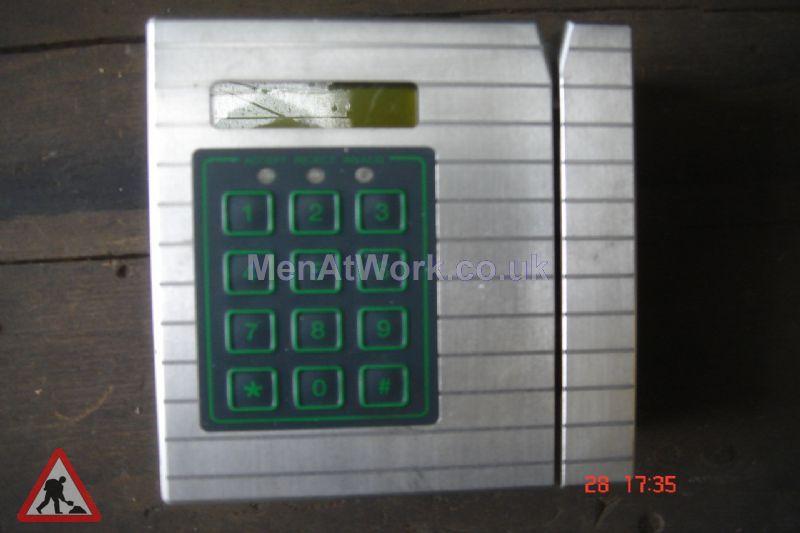 Swipe Card Readers – Door - Card Swipe 3 Exterior Stainless