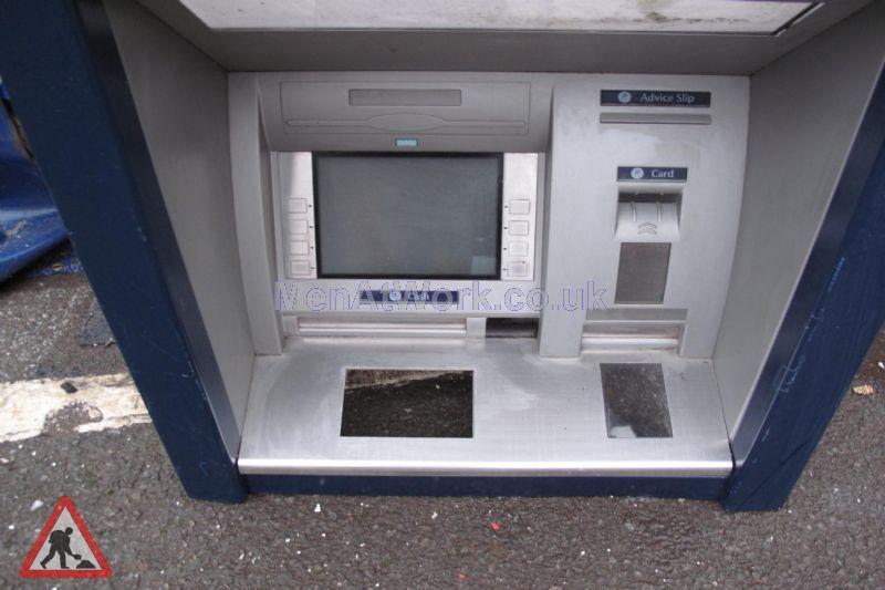 Cash Machine Blue - Close up