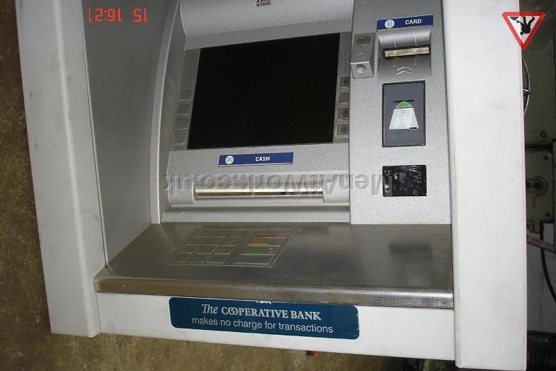 Cash Machine – Link - Close up
