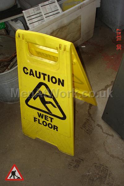 Caution Sign - Caution Sign