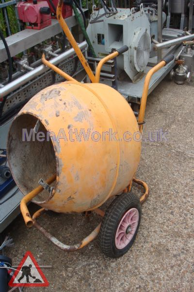 Cement Mixer Orange - Cement Mixer Orange (2)