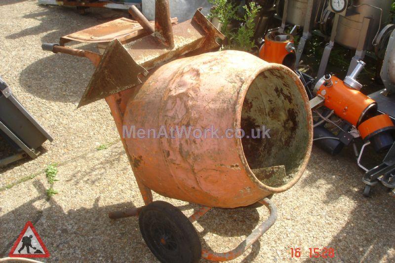 Cement Mixer Orange - Cement Mixer Orange (3)