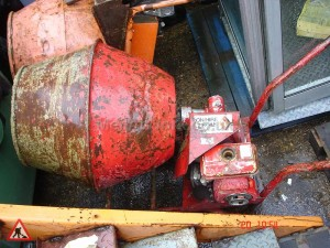 Cement Mixer Red - Cement Mixer Red