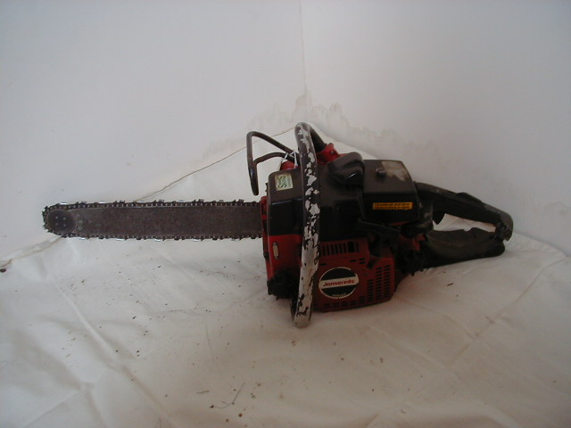 Various Chainsaws - Red