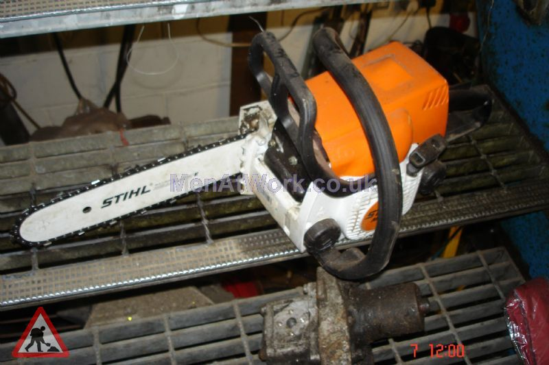 Various Chainsaws - New sideview