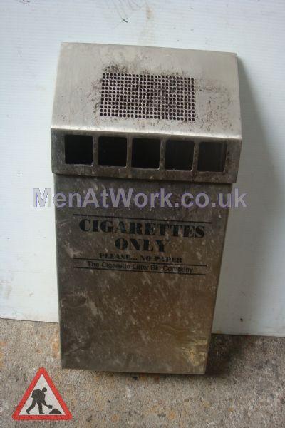 Cigarette Bin – Wall mounted - Cigarette bin (3)