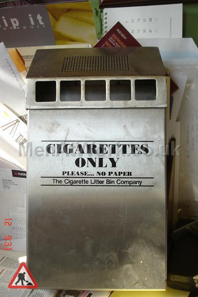 Cigarette Bin – Wall mounted - Cigarette bin