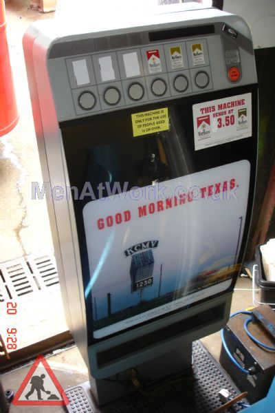 Vending machine- cigarettes - Cigarettes vending machine