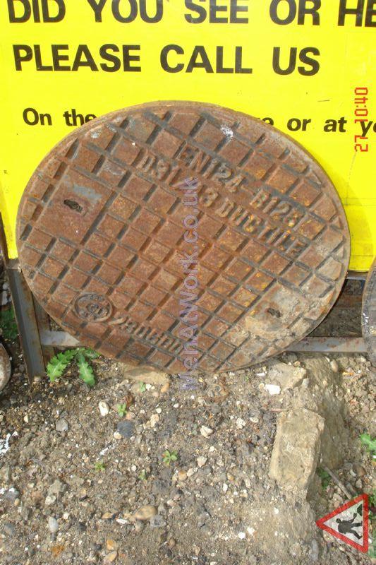 Man hole cover - Circular 49cm diameter 1