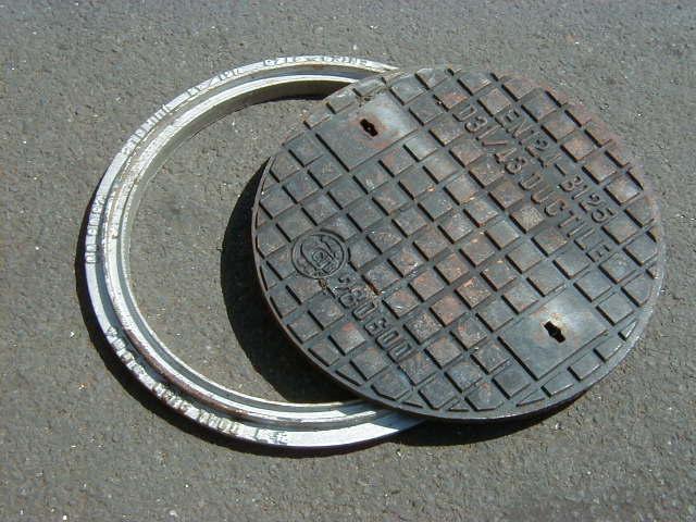 Man hole cover - Circular man hole 1 – frame