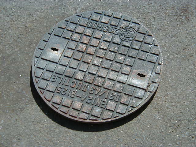 Man hole cover - Circular man hole 1