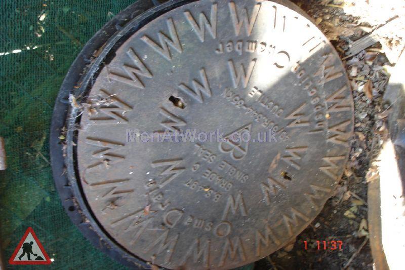 Man hole cover - Circular man hole 3
