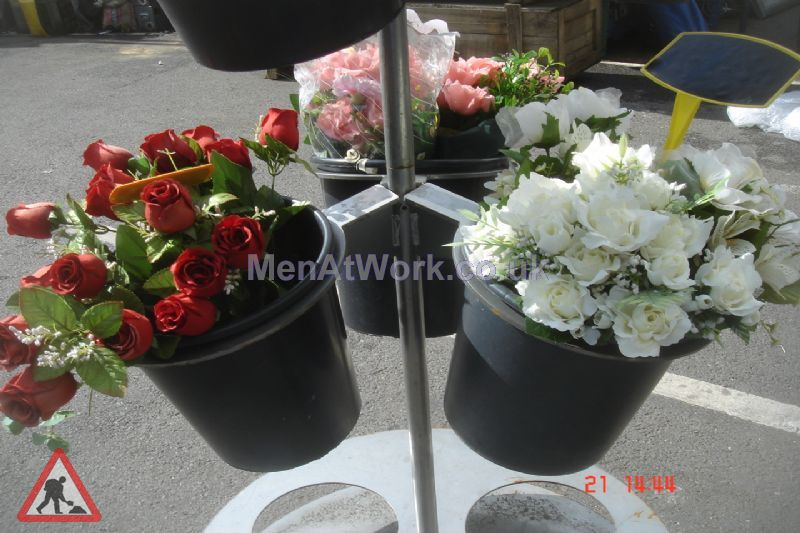 Circular Flower Stand - Circuler Flower Stand