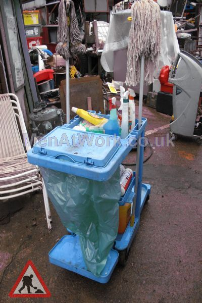 Cleaners Trolley - Cleaner's Trolley 2