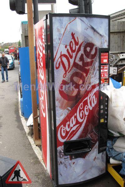 Vending machine- drinks - Coca-Cola vending machine