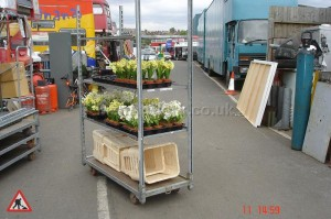 Commercial Flower Trolley - Commercial Flower Trolley