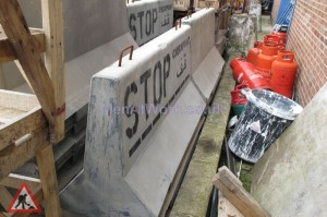 Fake Concrete Barriers ( Fibreglass ) - Concrete Barrier's Fiberglass