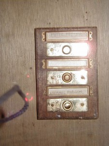 Flat door bell - 3 floors