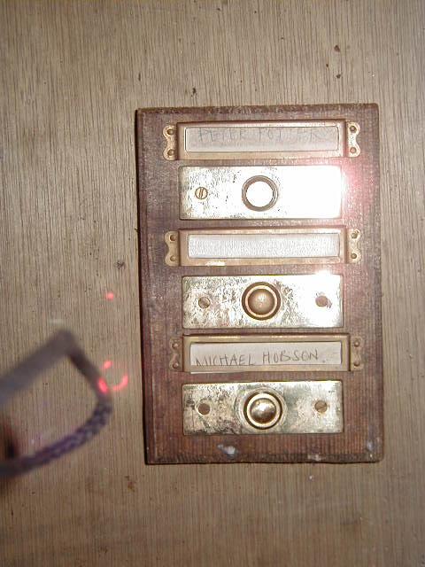 Flat door bell - 3 floors
