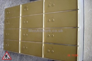Metal Drawers – With Locks - Doors with Locks