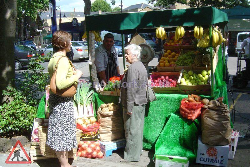 Market Stall - Dressed Market Stall