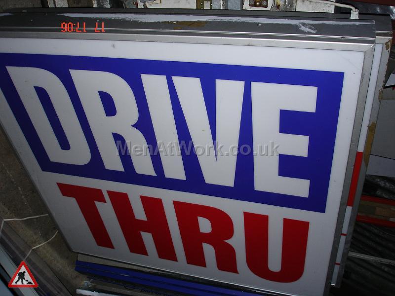 Drive Through Light Box - Drive Thru