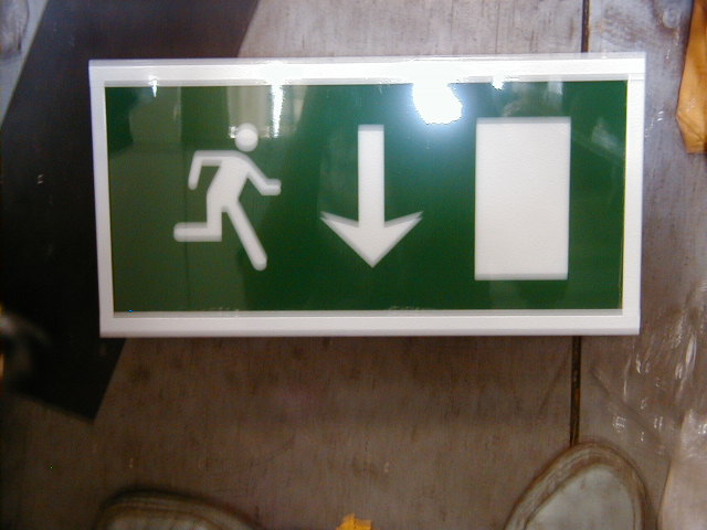 Fire Exit Light Box - FE 2