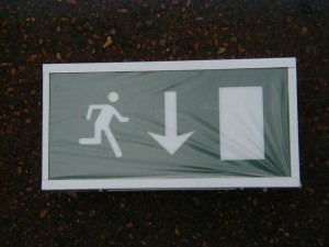 Fire Exit Light Box - FE 3