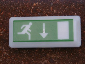 Fire Exit Light Box - FE 4