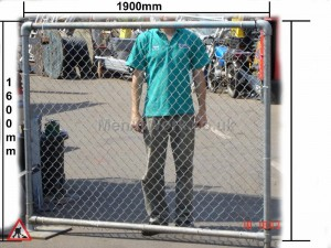 Chain Link Fence - FENCE CHAIN LINK SINGLE MEASUREMENTS