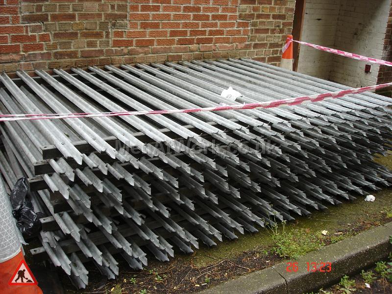 Palisade Style Security Fence - FENCE PALASADE