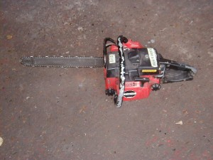 Fake Chain saw - Fake chain saw