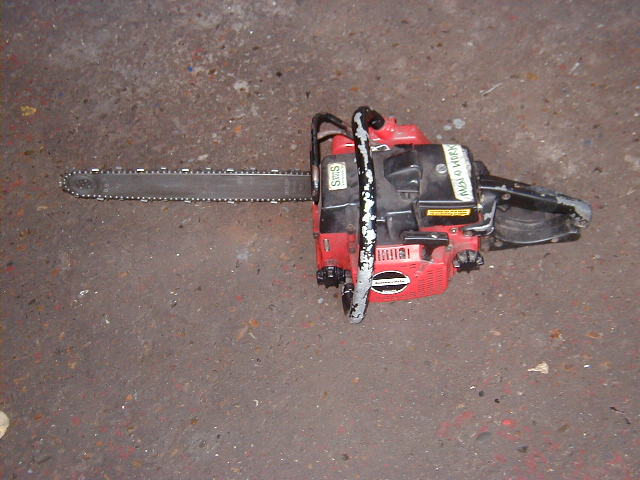Fake Chain saw - Fake chain saw
