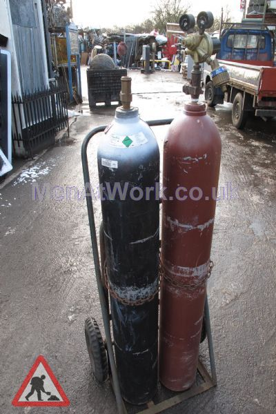 Gas Bottles with Hoses - Fiberglass Gas Bottles