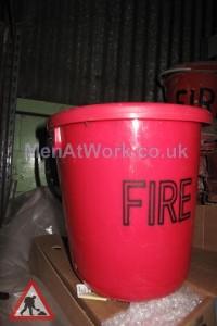 Plastic Fire Bucket - Fire Bucket