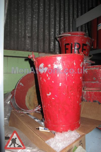 Metal Fire Bucket - Fire Bucket Metal