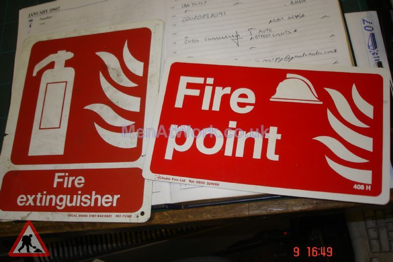 Fire Point Sign - Fire Point Sign