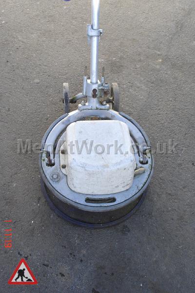 Floor Polisher - Closeup
