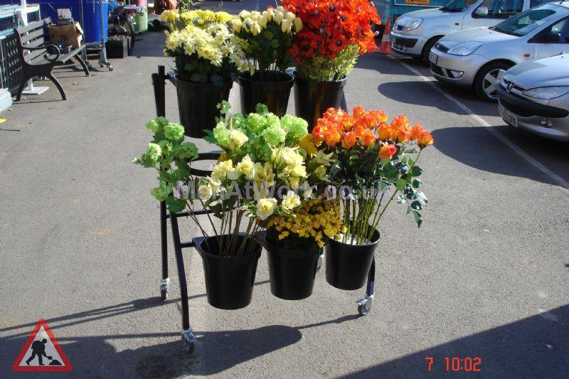 Market Stall - Flower market display (3)