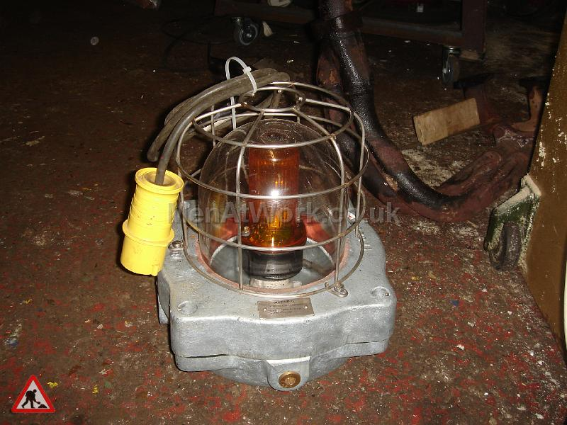 Caged Industrial Light - Framed Industrial Light (2)