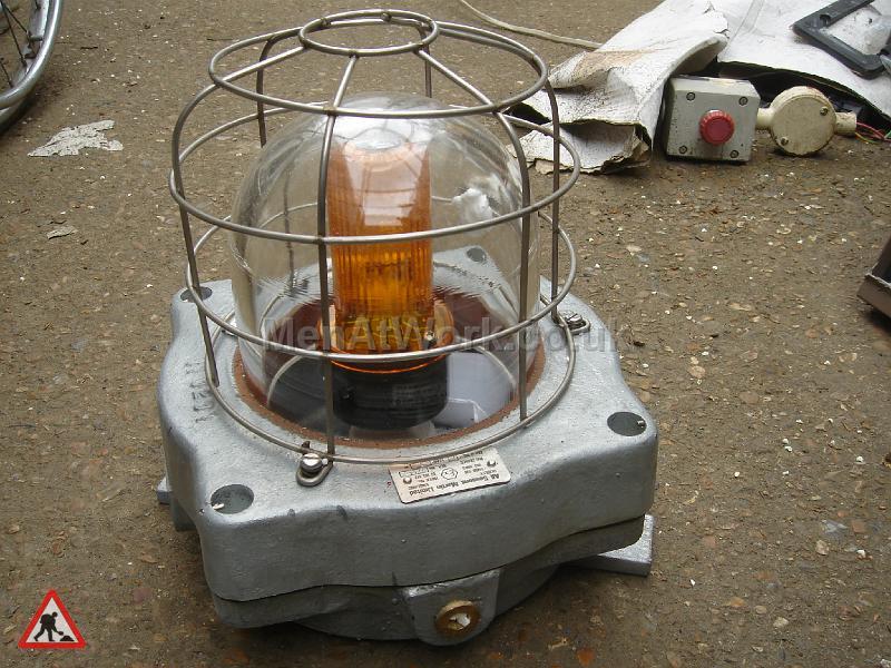 Caged Industrial Light - Framed Industrial Light (3)