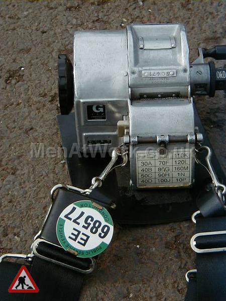 Bus Driver Gibson Ticket Machine - GIBSON TICKET MACHINE 3