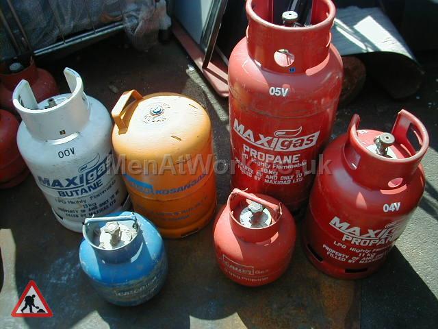 Gas Bottles - Gas Bottles Various