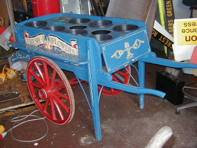 Flower market display - Hand cart (15)