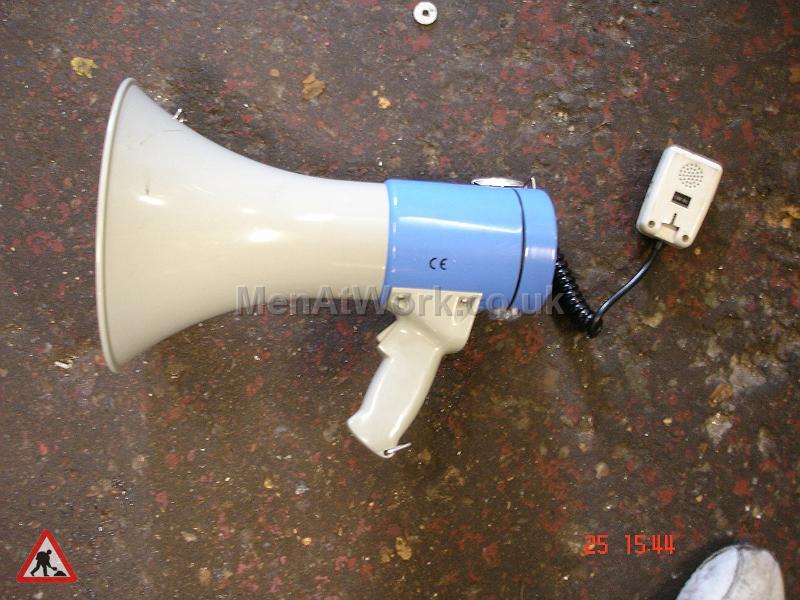 Megaphone - Handheld Megaphone – Blue Pair (2)